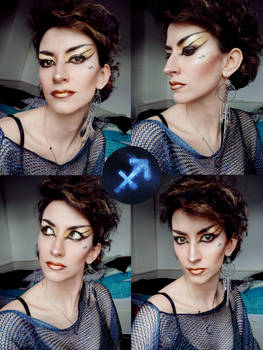 Sagittarius Make Up