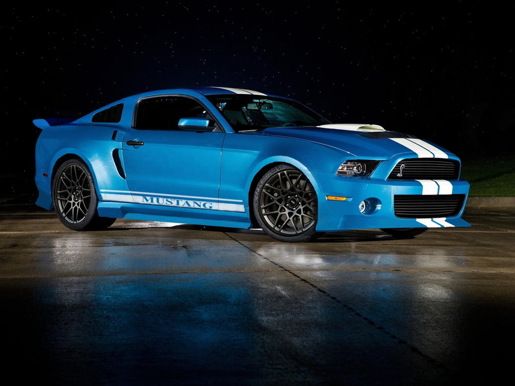 Ford mustang gt500 shelby cobra bodikit by f1hunor