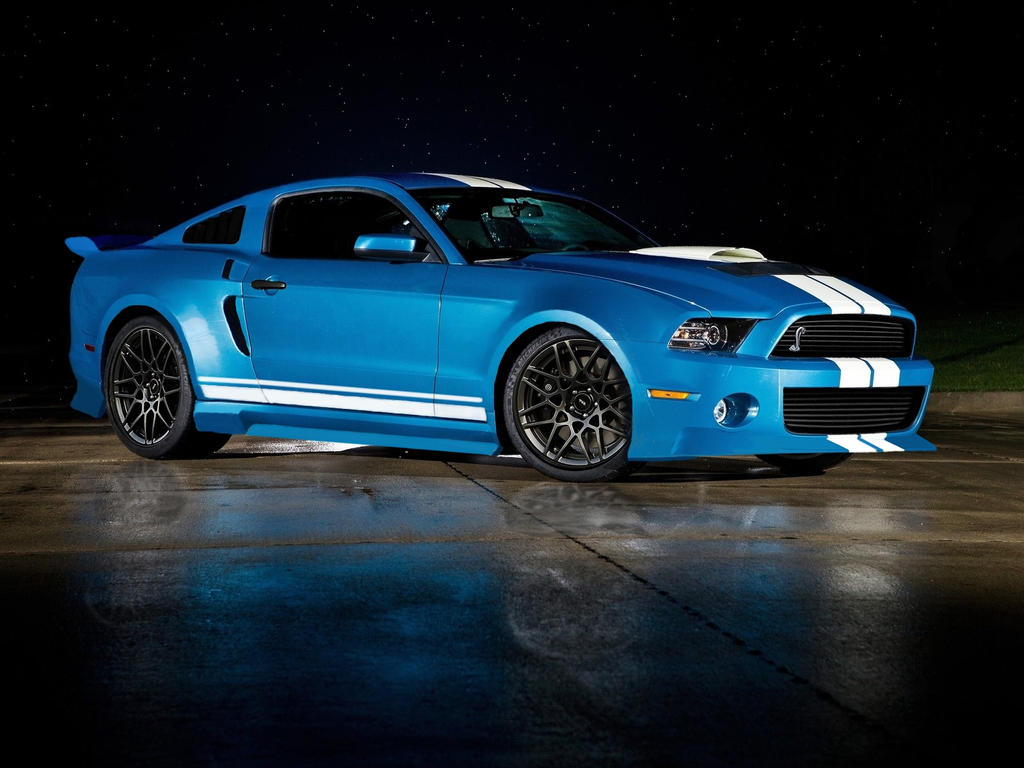 Ford mustang shelby gt500 cobra 2013 bodykit by f1hunor