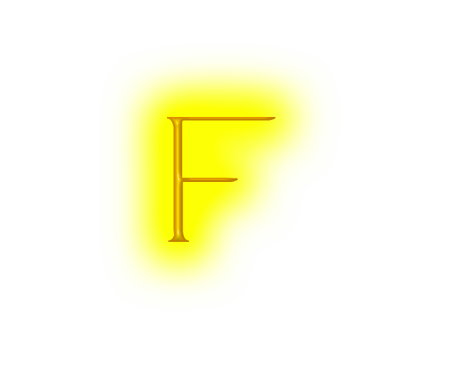 Yellow neon letter F by neonlettersplz on DeviantArt