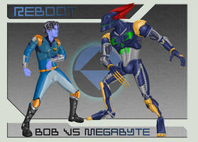 Bob vs. Megabyte Concept by CC-5052