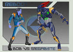 Bob vs. Megabyte Concept