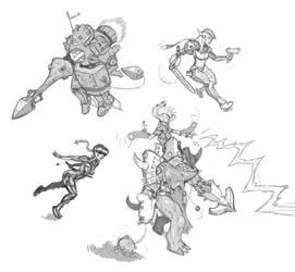 Design Sketches by ChildrenOfTheSea