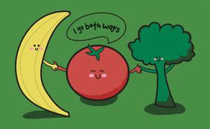 Tomatoes Go Both Ways by hadriabeth