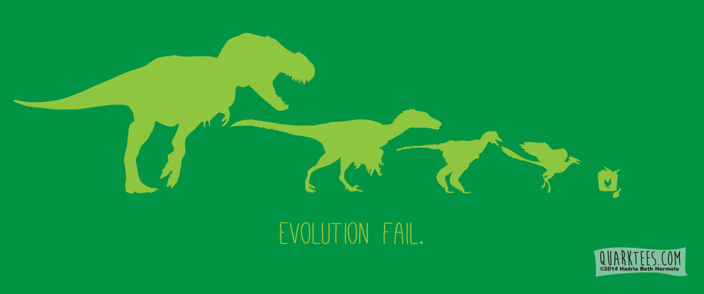 Evolution Fail by hadriabeth
