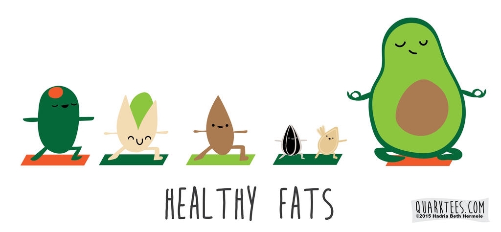 Healthy Fats by hadriabeth