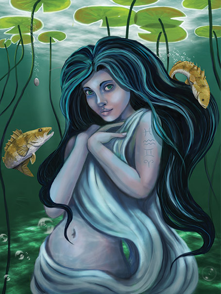 Lady of the Lake by hadriabeth