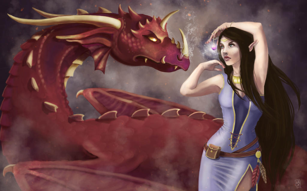 The Dragon Tamer by hadriabeth