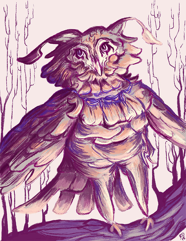 Owl Creature by horselover146515