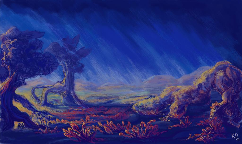 Fantasy Landscape 03 by horselover146515