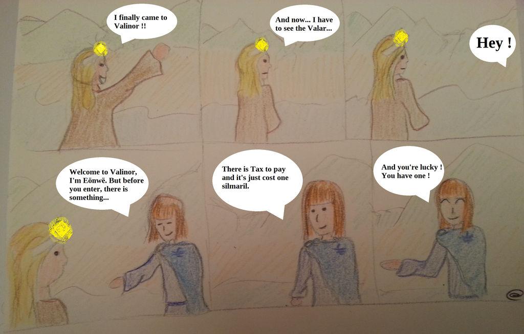 Tax in Valinor by Twinsene