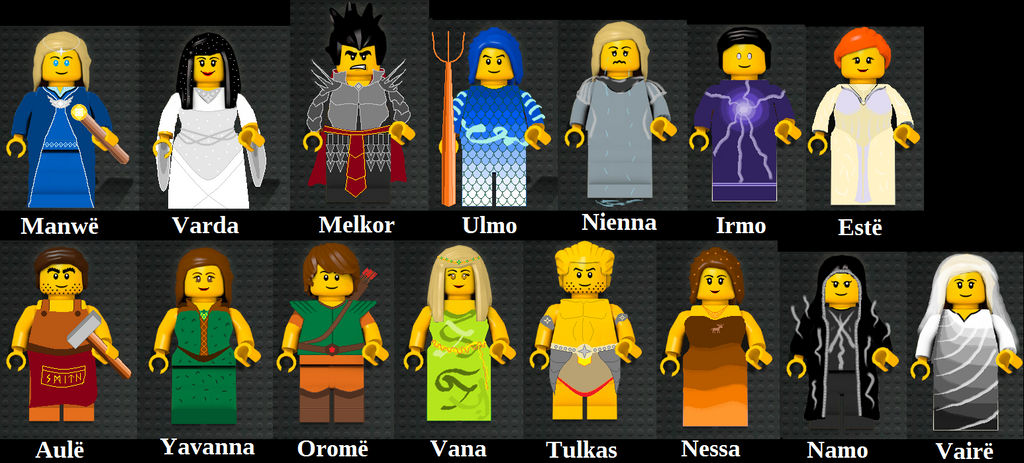 All the valar by Twinsene