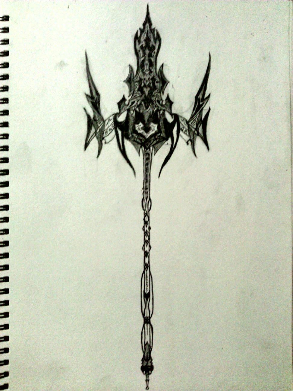 Poseidon Trident by Sacroth on DeviantArt