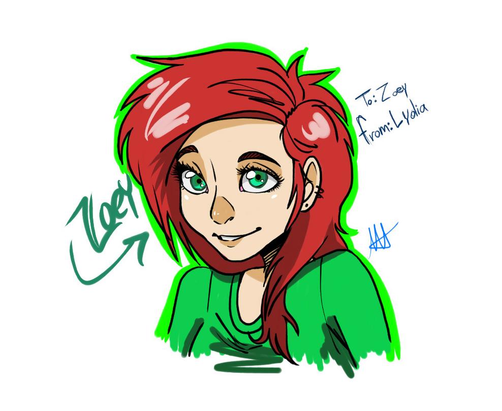 Zoey by MemoriaSwan