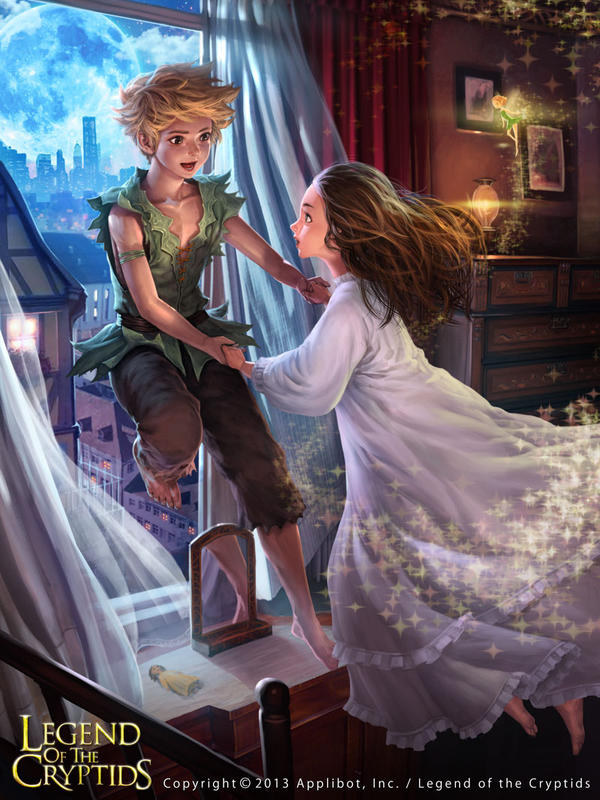Peter Pan by atomiiii
