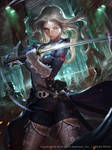 Future Women swordsman