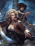 Woman pirate boss