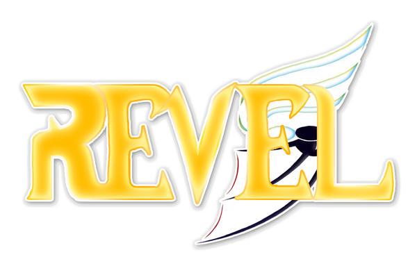 REVEL logo - my comic
