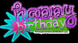 Happy Birthday . Para: constaanza   -pedido-
