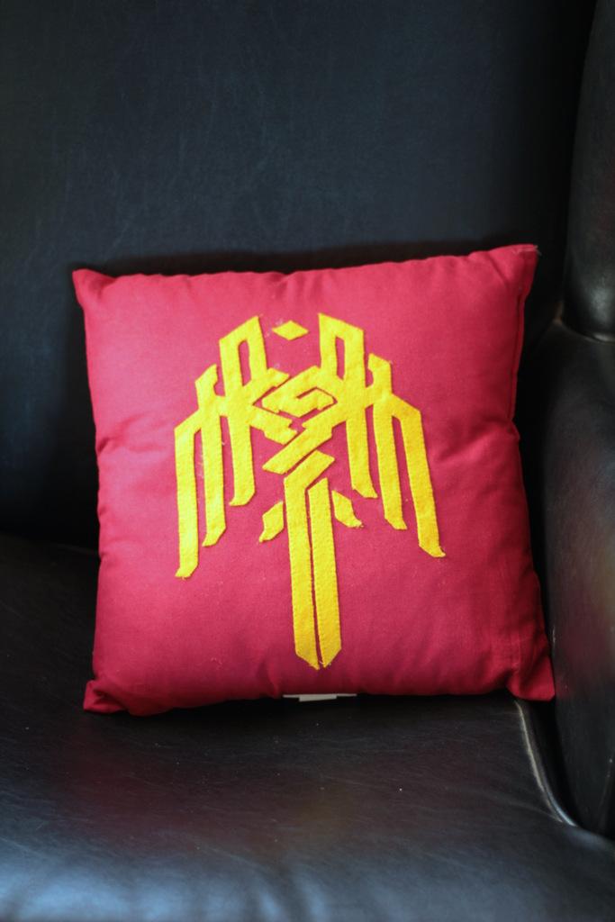 Customised Kirwall Cushion by Asukauk