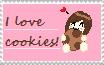 I love cookies [Stamp] by LunaBiene