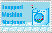 Support Washing Machines! by LunaBiene