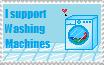Support Washing Machines! by LunaBiene