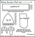 Aviator Cap Tutorial
