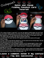 Folding Pokeball Card Tutorial by Cristophine