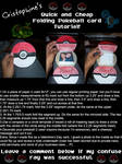 Folding Pokeball Card Tutorial