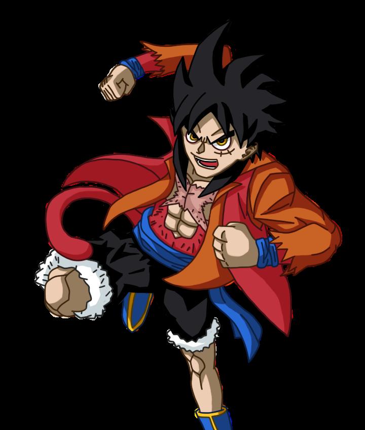 Goffu (Goku X Luffy) By RainbowKai On DeviantArt