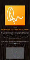 C4D Abstract Sculpture Tut