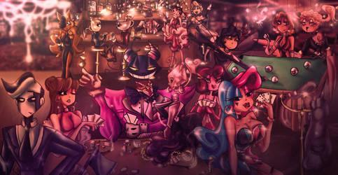 Casino Nights (Gangsta Toons/Devils Casino AU)