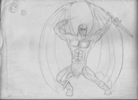 Moon Dragon Warrior