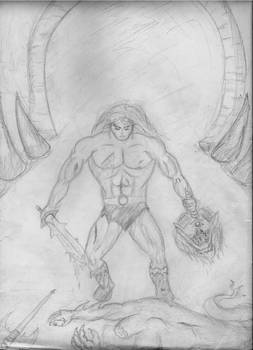 Barbarian at the Underworld Gate