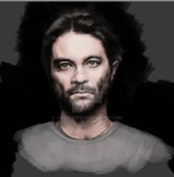 Alex De Pase portrait (unfinished work)