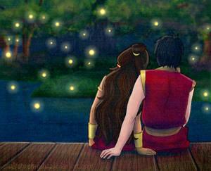 Zutara Week - Fireflies