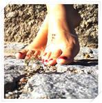 Sun in my feet