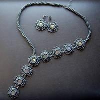 Grey Flowers by jagienkaa