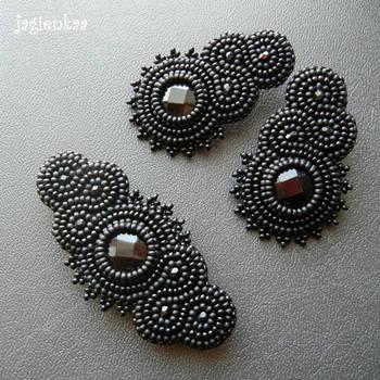 Dancing Onyx in Black by jagienkaa