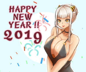 Happy New Year ! by Oni-dessin