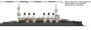 King Haarahld VI class battleship (Safehold)