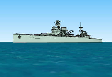 Panther class battlecruiser by Dilandu