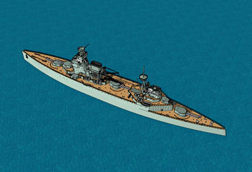Panther class battlecruiser (description) by Dilandu