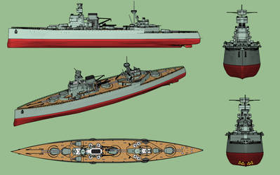 Panther class battlecruiser (scheme) by Dilandu