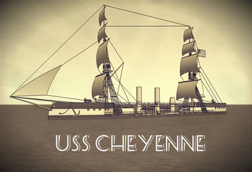 Happy New Year with USS Cheyenne by Dilandu