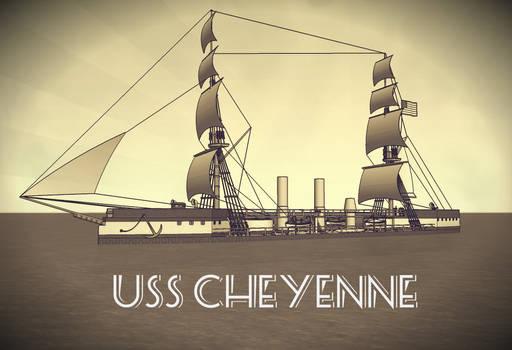 Happy New Year with USS Cheyenne