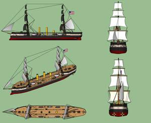 USS Cheyenne design