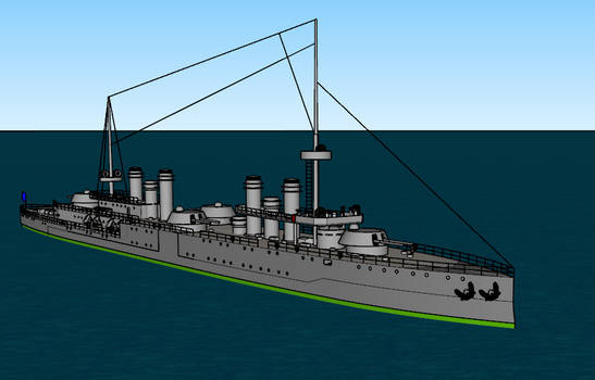 Thetis-class turbine cruiser