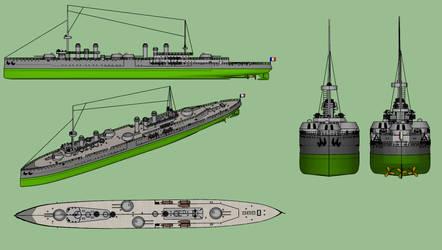 Thetis-class cruiser scheme